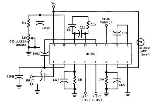 lm1800 pll stereo decoder