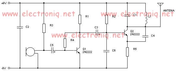 Mini Fm Transmitter With Transistors