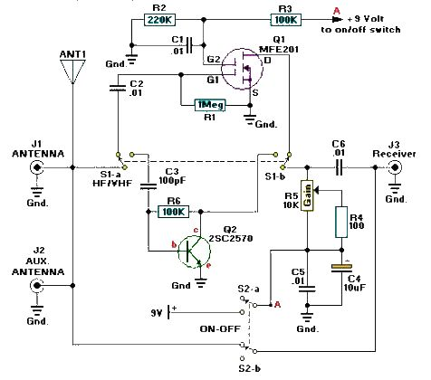 Circuit Further Cb Radio Linear Lifiers On Am Fm Radio Schematic
