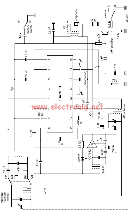 am radio circuit diagram pdf arduino uno circuit diagram pdf tda7088t fm receiver circuit