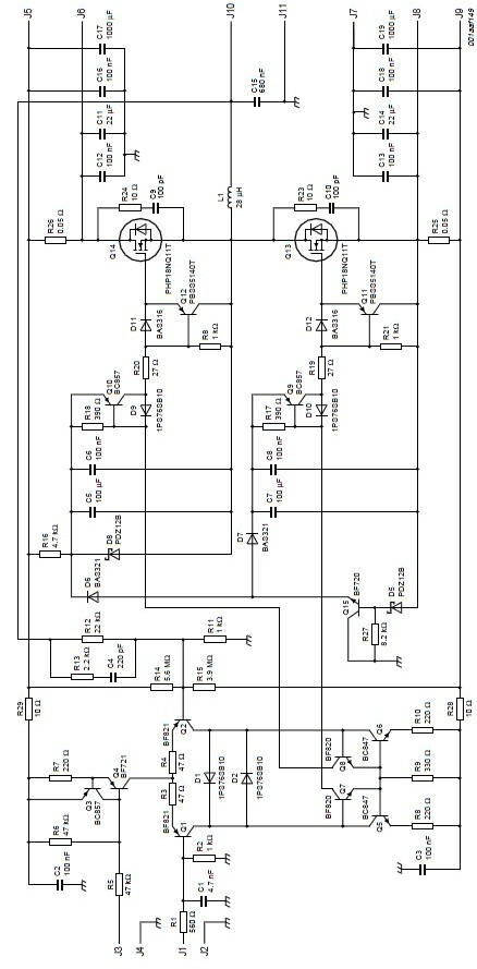 mosfet amplifier circuits  u2013 readingrat net