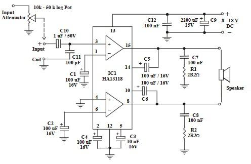 Audio   Page 41   Electronics Projects, Circuit Diagrams