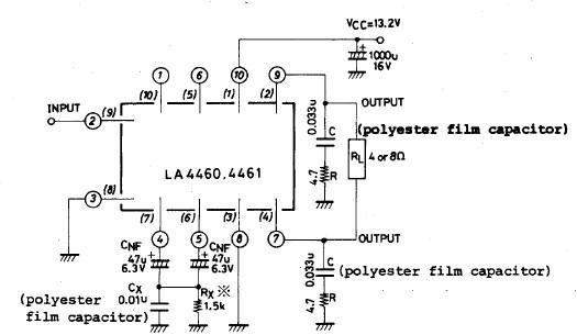 Stereo Audio Power Amplifier Schematic Circuit Diagram Using Lm4992