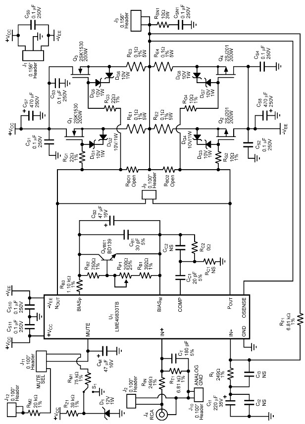 S as well Tda J Pcb Layout besides Jeep Wrangler Fuse Box Diagram together with Tda A Integrated Circuit Hi Fi Power  lifier as well Tda M Integrated Circuit Audio  lifier. on audio power amplifier circuit diagram