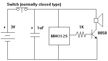 m8031 ding dong circuit diagram ~ allm8031 ding dong circuit diagram