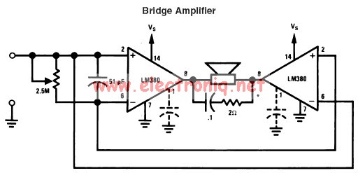 lm380 power audio amplifier circuit