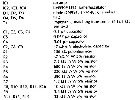Outstanding Electronic Circuit Components List Sketch - Schematic ...