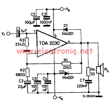 tda2030 amplifier 14v idle air control valve wiring diagram idle find image about,Nissan Ca18det Wiring Diagram