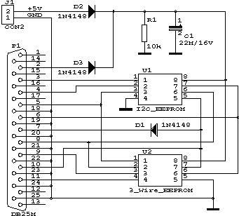 serial eeprom programmer circuit rh electroniq net eprom programmer schematic diagram DIY Eprom Programmer