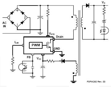 FSFM260 FSFM300 for Switch Mode Power Supplies