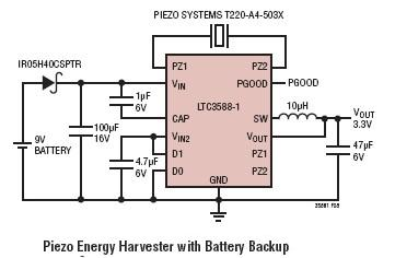 Energy harvesting ic