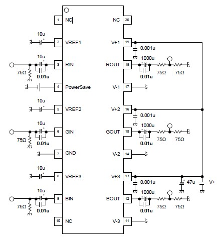 Circuit 300x156 basically amplifier circuits diagram ipod wiring amplifier on video amplifier electronic circuit project using njm41045 ic ccuart Images