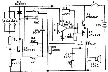 This circuit project must be powered from a 12 volt DC power supply .