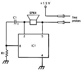 LM3909 bassed Continuity tester circuit diagram | Electronic ...