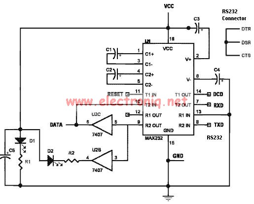 SIM card reader schematic