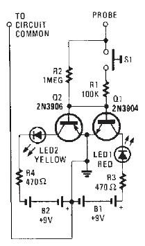 AC DC indicator circuit diagram Ac To Dc Schematic on
