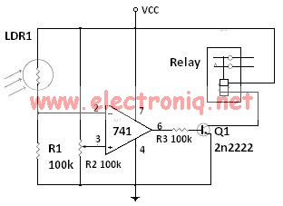 ambient light sensor circuit diagram arbortech us rh arbortech us simple circuit diagram of light sensor simple circuit diagram of light sensor