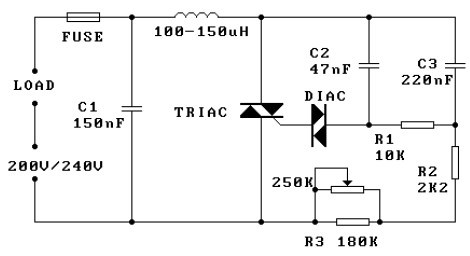 touch dimmer switch circuit diagram images diogram remote control triac dimming wiring diagram printable