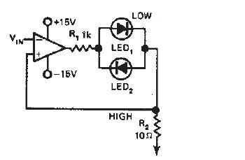 null detector circuit diagram