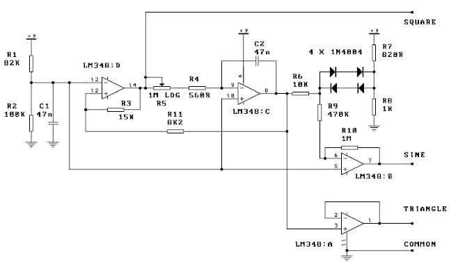 Signal Generators For Dummies : Shape signal generator schematic get free image about
