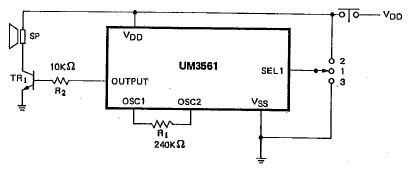 um3561 electronic siren circuit diagram electronik computer rh electronikmade blogspot com 350 Chevy Engine Wiring Diagram Basic Engine Wiring Diagram