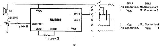 um3561 siren alarm circuit diagram rh electroniq net Locomotive Wiring-Diagram Basic Engine Wiring Diagram