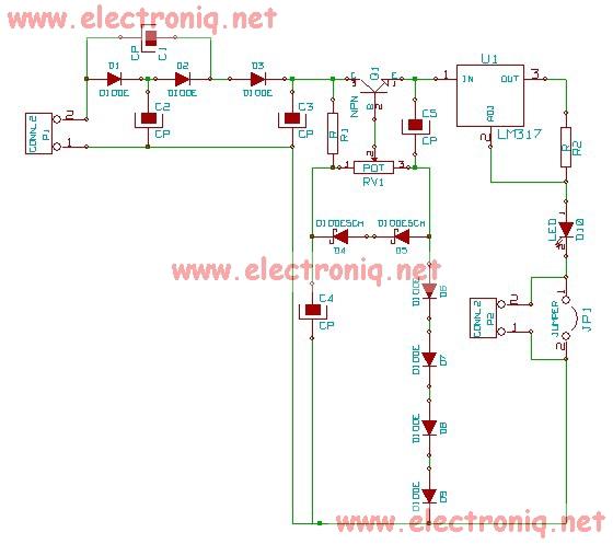Zener Diode Circuit Diagram Zener diode tes...
