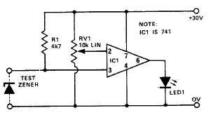 zener diode tester circuit rh electroniq net