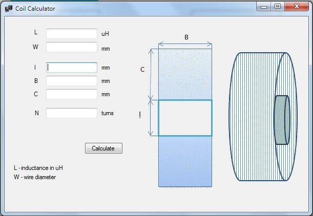 filter designer coil calculator software