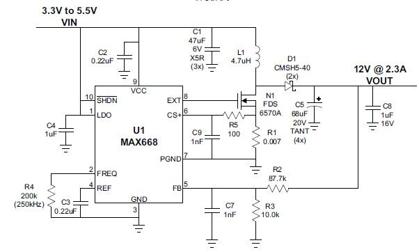 Sepic buck boost converter design as well Index likewise Dc To Boost Converter Schematic moreover Circuit Design Tutorial In Circuitmaker further Dc Dc Converter 12v To 400v Is This Possible. on step up voltage converter circuit diagram