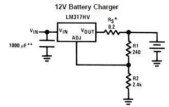 Dodge Dakota 1997 Dodge Dakota Altenator Not Charging Battery together with Simple Dual Voltage Power Supply 12 Volt additionally Zener Diode In Bridge Rectifier also Charging TS additionally 12v Battery Charger Electronic Project Using Lm317. on 12 volt voltage regulator circuit diagram