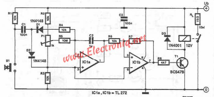 Heater Circuit Diagram Using Common Electronic Parts