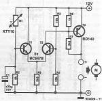 12v fan controller circuit diagram