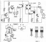 240 110V voltage converter circuit diagram