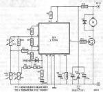 L121 simple temperature regulator circuit schematic project