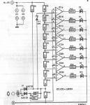LED vumeter circuit diagram using LM324