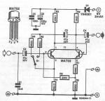 Microphone amplifier circuit