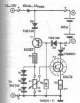 Charger for NiCd NiMh batteries circuit diagram using transistors