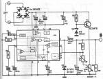 L296 30v variable switching power regulator circuit