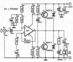 TDA2030 40W power amplifier circuit