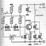 Radio remote transmitter circuit diagram