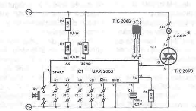 uaa3000 timing circuit electronic project rh electroniq net