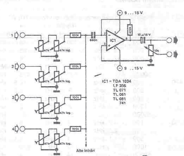 Strange Audio Mixer Circuit Diagram Project Using Operational Amplifier Wiring Cloud Mangdienstapotheekhoekschewaardnl
