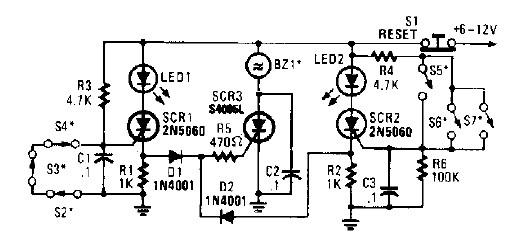 high power alarm driver electronic project