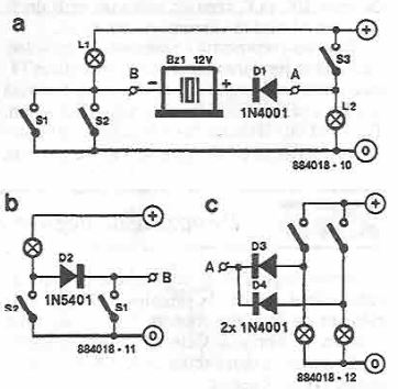 Simple indicator with buzzer simple indicator with buzzer circuit diagram ccuart Images