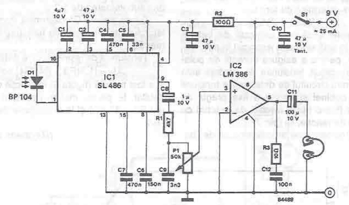 Brilliant Infrared Audio Receiver Circuit Wiring 101 Vieworaxxcnl