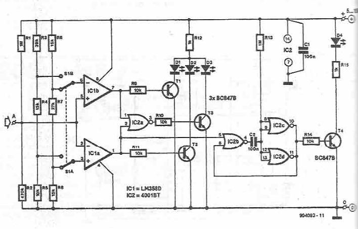 simple logic tester circuit