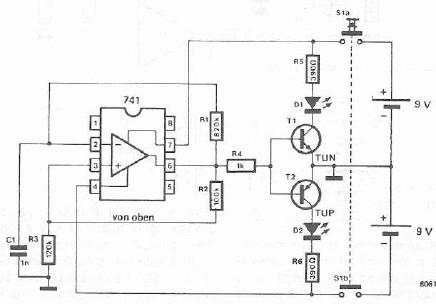 Op Amp Tester Schematic Smart Wiring Diagrams