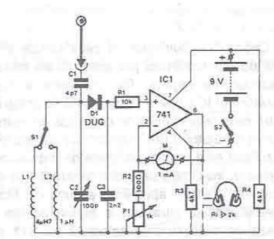spy rf bug detector circuit  u2013 readingrat net