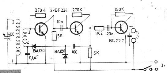 long and medium wave radio receiver circuit diagram rh electroniq net am radio receiver circuit diagram simple fm radio receiver circuit diagram